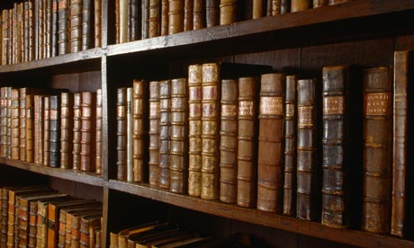 Old-books-on-shelf